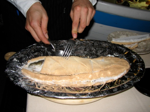 Fish Baked in Salt